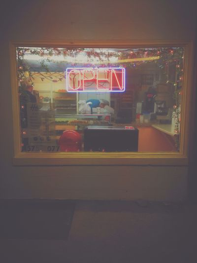 Neon Donuts Hanging Out Vscocam