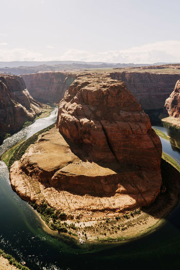 Arizona Roadtrip Rock Water Beauty In Nature Rock Formation Geology Mountain Travel Destinations Formation Outdoors Eroded Tranquil Scene Scenics - Nature Tranquility Non-urban Scene No People Horseshoe Bend Horseshoe River Canyon Navajo Nation Red Rock