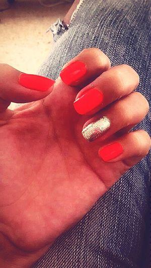 Nails Done! NeonNails Nails Done Neon Color Thats Me ♥ Nailporn