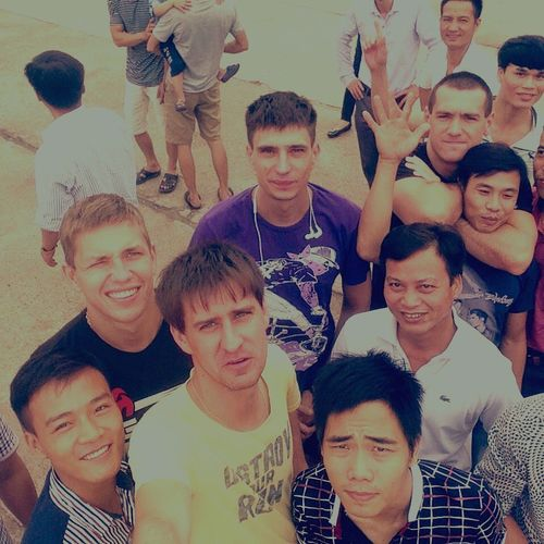 Sin'chao Smayle My Frends From Vietnam And Ukrain