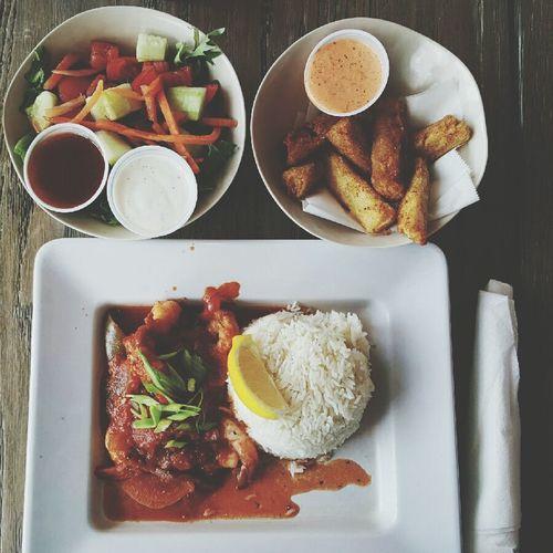 Jimmy'z. Foodporn Foodie Goodeats Foodgasm Foodphotography Food Porn Awards Food Miami FL Usa 🇺🇸☀️ Wynwood Photofood Salad Shrimps Creole