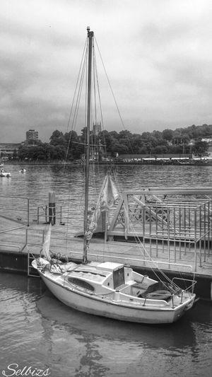 Taking Photos Boat Riverside Peir