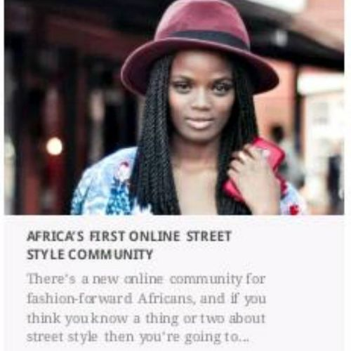 On the COVER of @ellemagazinesa 's First Africa Online street style community. Proudmoment StyleBySA InstaELLE Fashion ForbsListLevelsKwediniDearMzantsiMakingFlamesWeLoveDearMzantsi