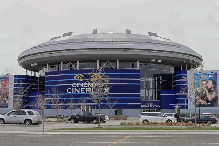 Architecture Blue Building Exterior Built Structure Car Centropolis Cinema Cineplex  Day Design Flying Saucer Land Vehicle MOVIE Outdoors Real People Sky Streetphotography Theater