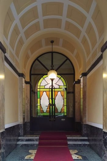 entrance Politics And Government Clock Face City Dome History Arch Architecture Built Structure Palace Entry Archway Entryway Mosaic Passage Arched Entrance