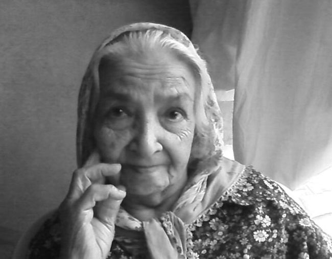 My grand mother :)