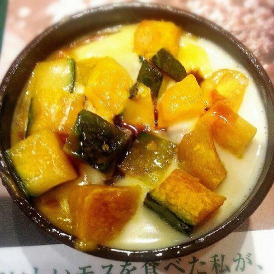 Pumpkin Pudding カボチャ プリン カボチャ大好き(* >ω<)