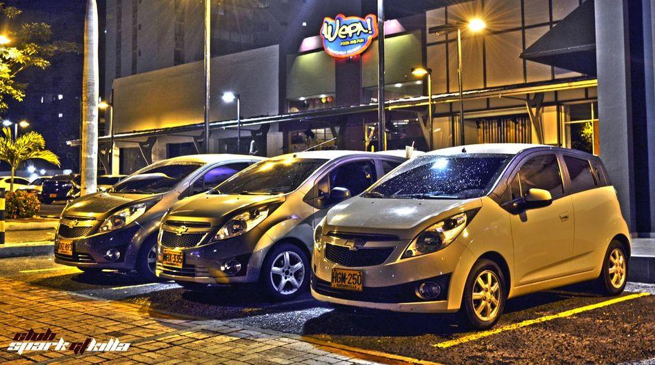 Juntos por una misma pasion ! Clubsparkgtkilla SparkGt Clubsparkgt Amigos Taking Photos Jlaphoto Check This Out Amazing View LoveCars Barranquilla