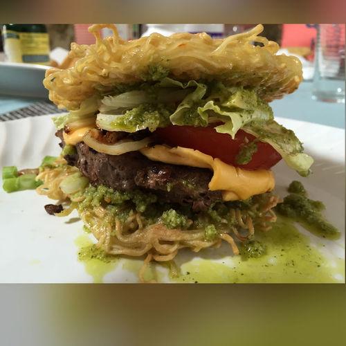 #Food Foodporn Homemade Ramen Burger
