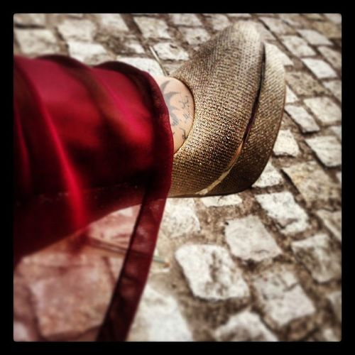 Love my heels!!! Heels Gold Nice Verytall Yadiragj