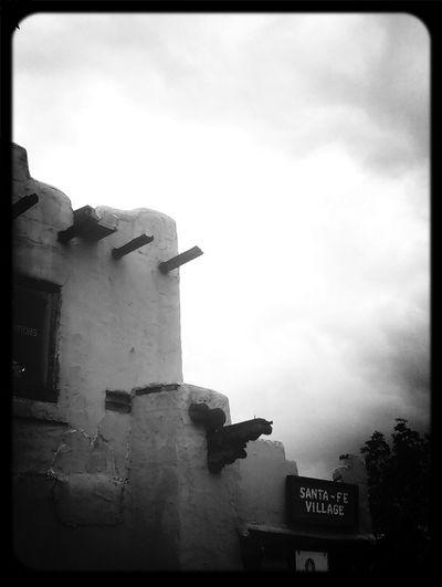 Soothing clouds sprinkling soft rain. Santa Fe Rain Santa Fe Village