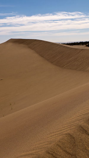 Desert Land Environment Landscape Sand Scenics - Nature Arid Climate Climate Sky Tranquil Scene Sand Dune Tranquility Nature Non-urban Scene Beauty In Nature Day No People Africa Hot Adventure Hiking Trekking Cloud - Sky Horizon Over Land Physical Geography