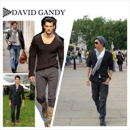 My David Gandy attempt! DavidGandy London Fashion Malemodels