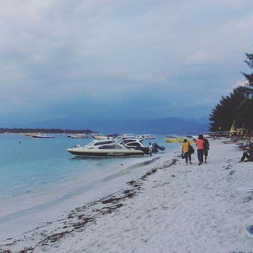 Kembali ke Lombok. Bye Gili Trawangan. Lombok Gilitrawangan  Speedboat Shorttrip Wonderfulindonesia Holiday Girlsdayout Beautiful Beach Island Hopingisland