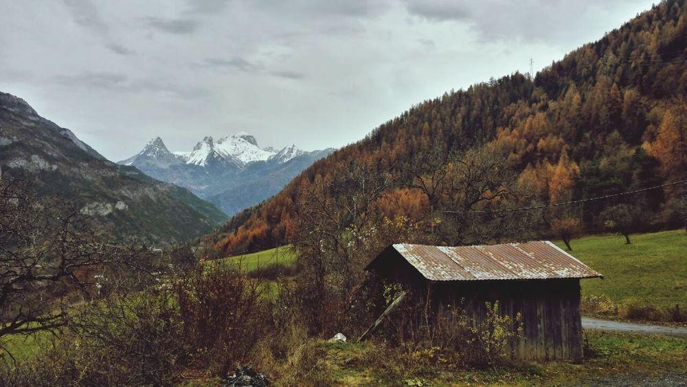Vallee De L'ubaye Alpes Mountain