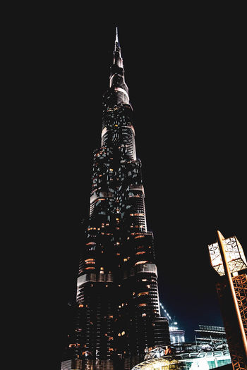 burj khalifa Built Structure Architecture Building Exterior Tall - High City Tower Night Illuminated Building Office Building Exterior Skyscraper Travel Destinations No People Sky Low Angle View Travel Tourism Clear Sky Nature Modern Outdoors Spire  Cityscape Financial District  Place Of Worship Burj Khalifa Dubai EyeEm Best Shots EyeEmNewHere EyeEm Gallery EyeEm Selects