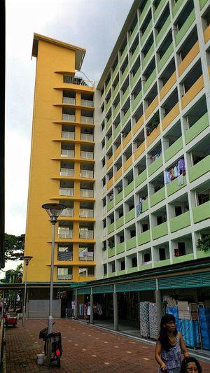 Singapore- Toa Payoh Lorong 7 housing estate SonyEricssonST18i Toapayoh