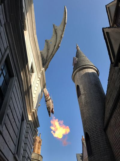Been There. | Universal Studios  Harrypotter Gringotts Dragon Holiday Vacation Theme Park Orlando Building Exterior Islands Of Adventure Florida Been There.