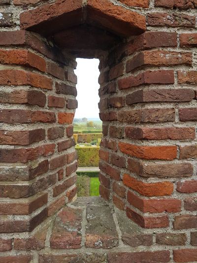 Castle window Museum Old Ruin History Built Structure No People ArchitectureNature Outdoors Sky Muiderslot Outdoors Photograpghy  Castle