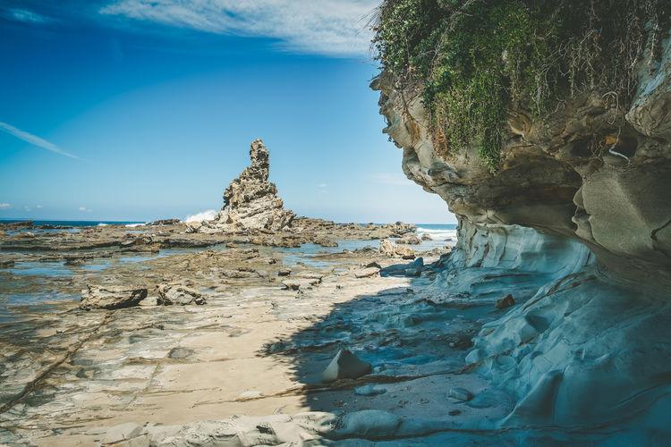 Eagles nest stunning rock formation near inverloch in victoria, australia