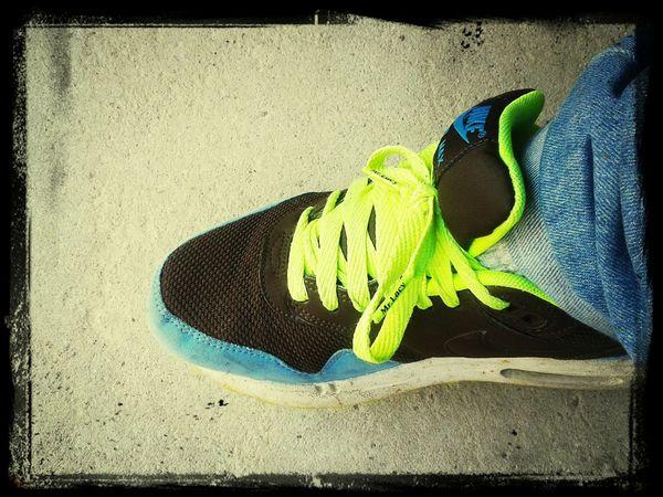 Sneakers Taking Photos Enjoying Life