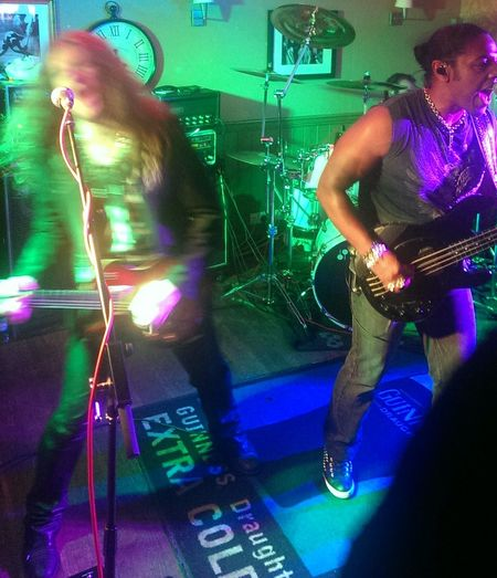 Limehouse Lizzy giving it some wellies at The Grapes Bury St Edmunds Rock'n'Roll Pub Great Atmosphere