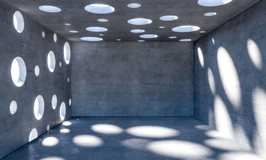 Wall Concrete Floor Room Background Empty Interior Cement Space Texture Design Indoor Grunge Architecture Inside Nobody Construction Abstract Textured  Building Modern Light Stucco Copyspace Indoors  Copy Space Minimalist Hole