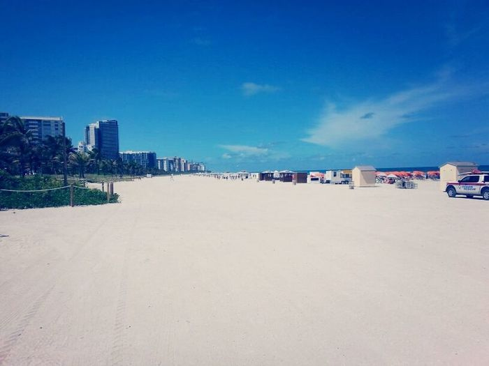 Miami Beach, sunset and fun! Summer2014 Miami Summer Relaxing Beautiful Place