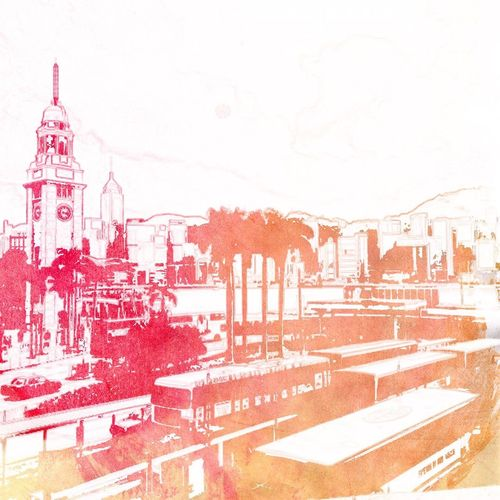 Tsim Sha Tsui Clock Tower Tsim Sha Tsui 尖沙咀 Clock Tower Star Ferry Tsuistyle Photography Hkig HongKong Hong Kong Hong Kong Harbour Harbourfront Harbour View Hongkongcity Watercolor Special Effects EyeEmNewHere