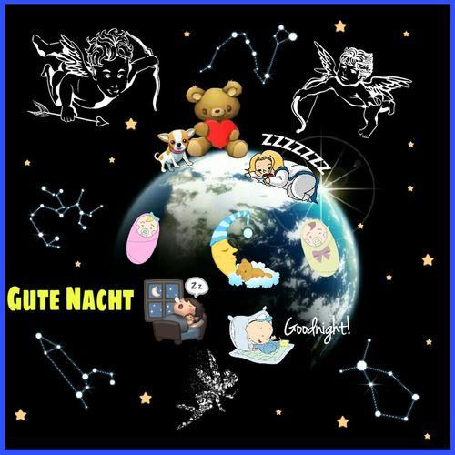 Gute Nacht Good night Gutenacht