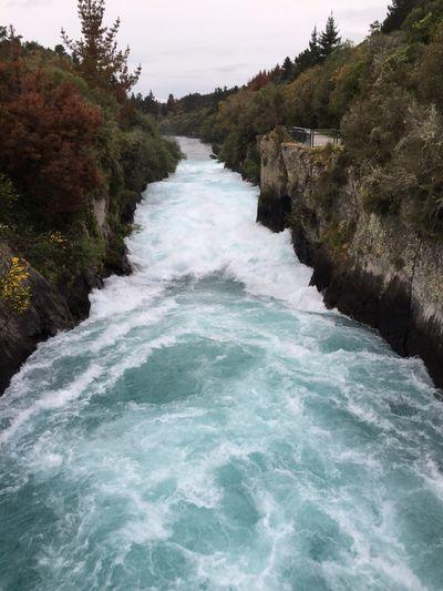 Taupo New Zealand Huka Falls Huka Falls, NZ