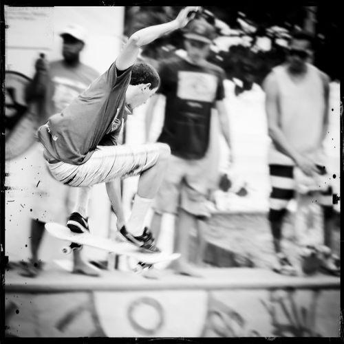 Skateboarding -
