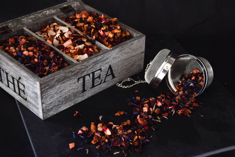 Loose leaf fruit tea collection Collection Dried Plant Drink Food And Drink Loose Leaf Tea Tea Collection Tea Time