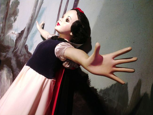 EyeEm Selects Snow White Plastic People Reaching Out