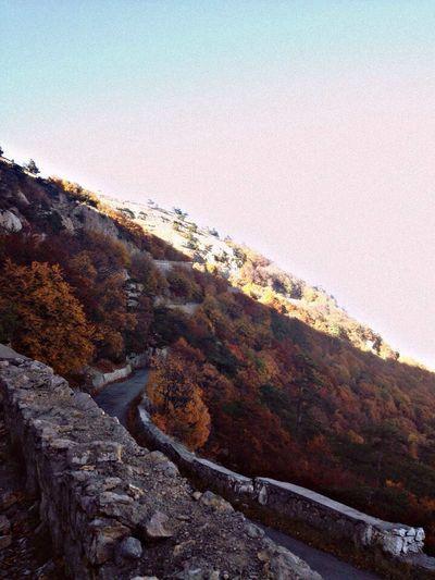 аипетри город друзья Золотая осень лето осень Поход пшекм с кореиза ялта