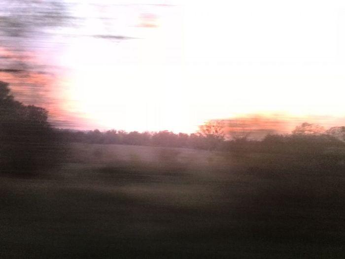 near Tata Sunset Tree Sun Field Multi Colored Backgrounds Sunbeam Sky Sunrise