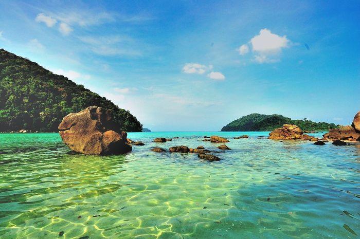Moo koh surin Phang Nga Thailand Sea And Sky Seascape Travel Photography Seascape Photography Nikon D50 Andaman Sea Andamanislands