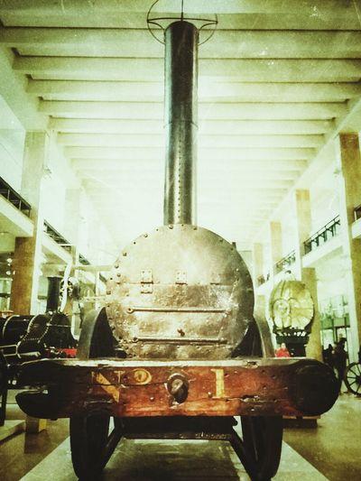 Stephenson's Rocket Science Museum London Stephensons Rocket Train World First British History