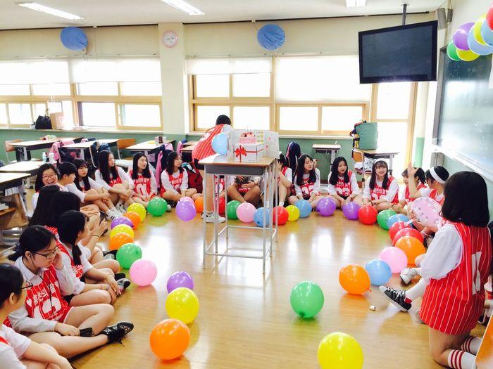 Teacher's Day Claas4 Classroom Classmates 체육대회 스승의 날 Surprise! Ulsan , South Korea