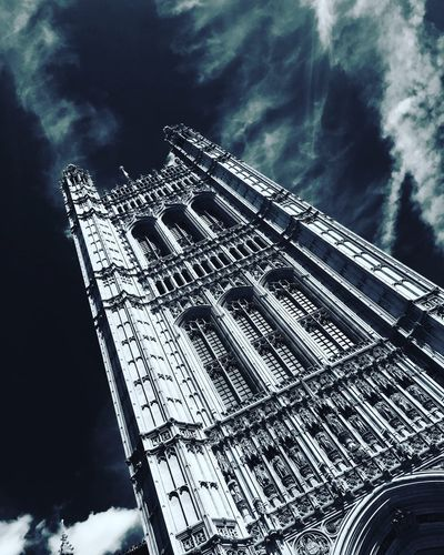 London #westminsterabbey #cityoflondon Low Angle View Sky Travel Destinations First Eyeem Photo