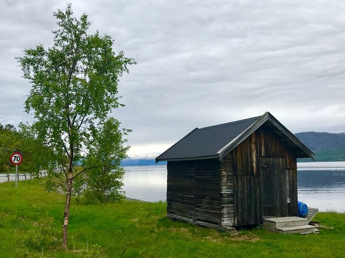 Norway Built Structure Plant Architecture Sky Water Building Exterior Cloud - Sky Nature Tree Day No People Building House Beauty In Nature Land Lake Hut Outdoors Growth Cabin