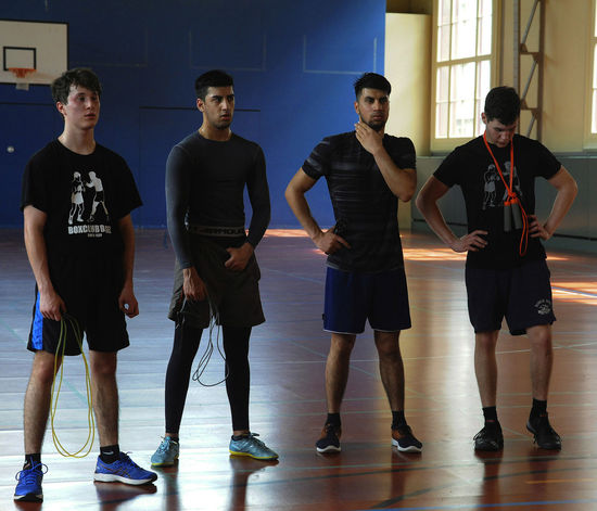 Boxclub Basel boys for all Arts Culture And Entertainment Men Strength Training Athlete