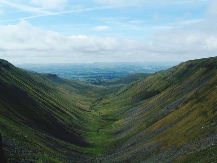 Awesome Landscape_photography Valley Cumbria One Of Those Moments high cup nick, in the Eden valley.. A lovely walk up and staggering views pretty much all the way. Taking Photos Enjoying Life Out For A Walk Landscapes With WhiteWall