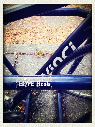 Bike rack wisdom