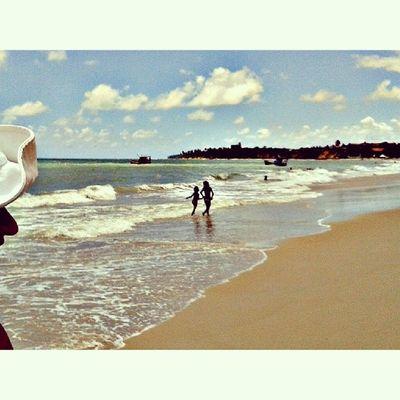 Sonhei com isso. Bom dia. Lategram Beach Children Holiday sun sea