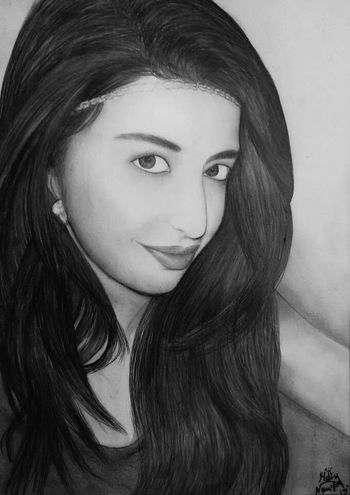 Portrait Drawing Pencilart Pencil Drawing Lebanese