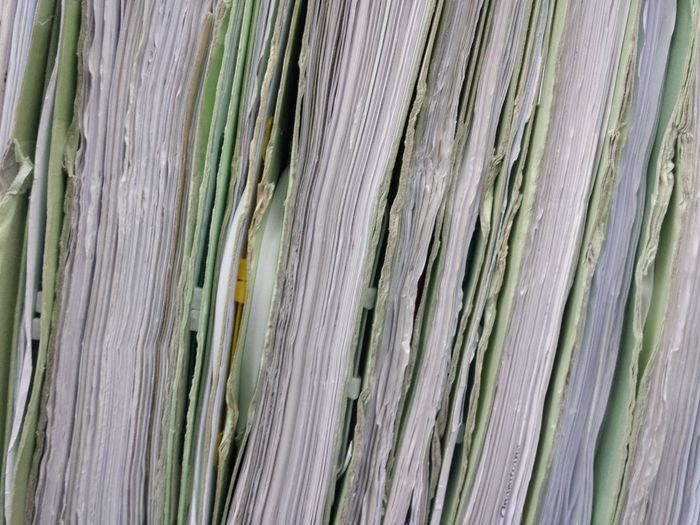 FilesFolder Folder Paper Pattern Pieces