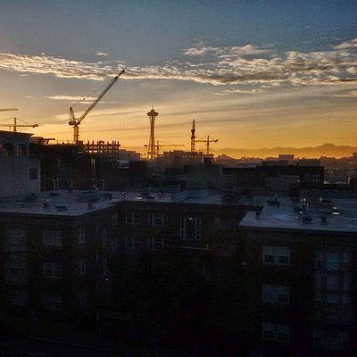 Seattle 206 Sunset Urban Spaceneedle Jgc