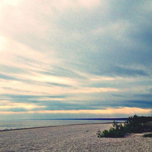 Seaside Baltic Sea Amazing View Melancholic Landscapes