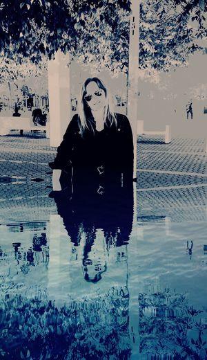 Woman Woman Of EyeEm Technology Reflection Cyberspace